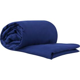 Sea to Summit Silk/Cotton Travel Binnenbroek Double-High, navy blue